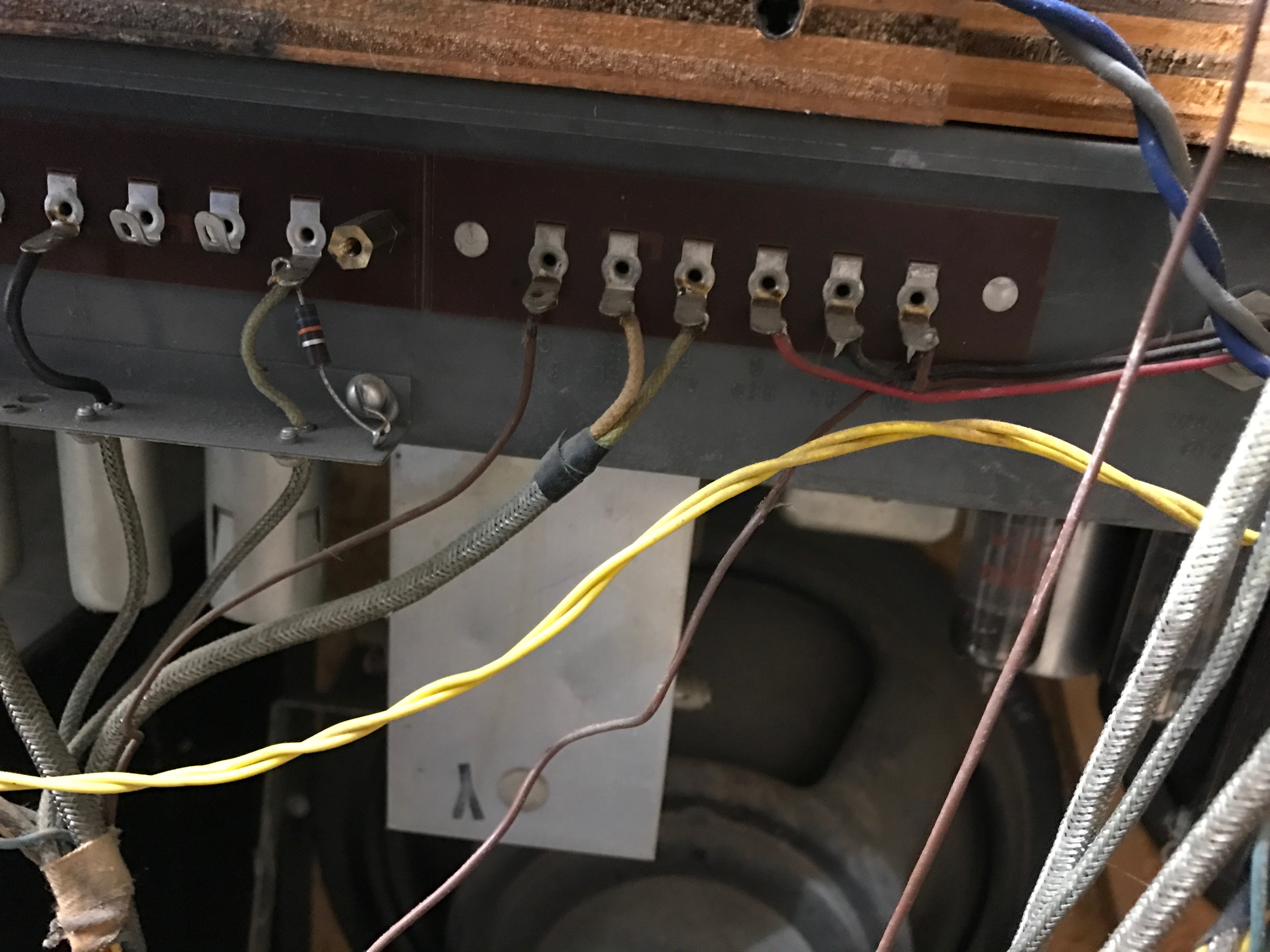 Preamp wiring