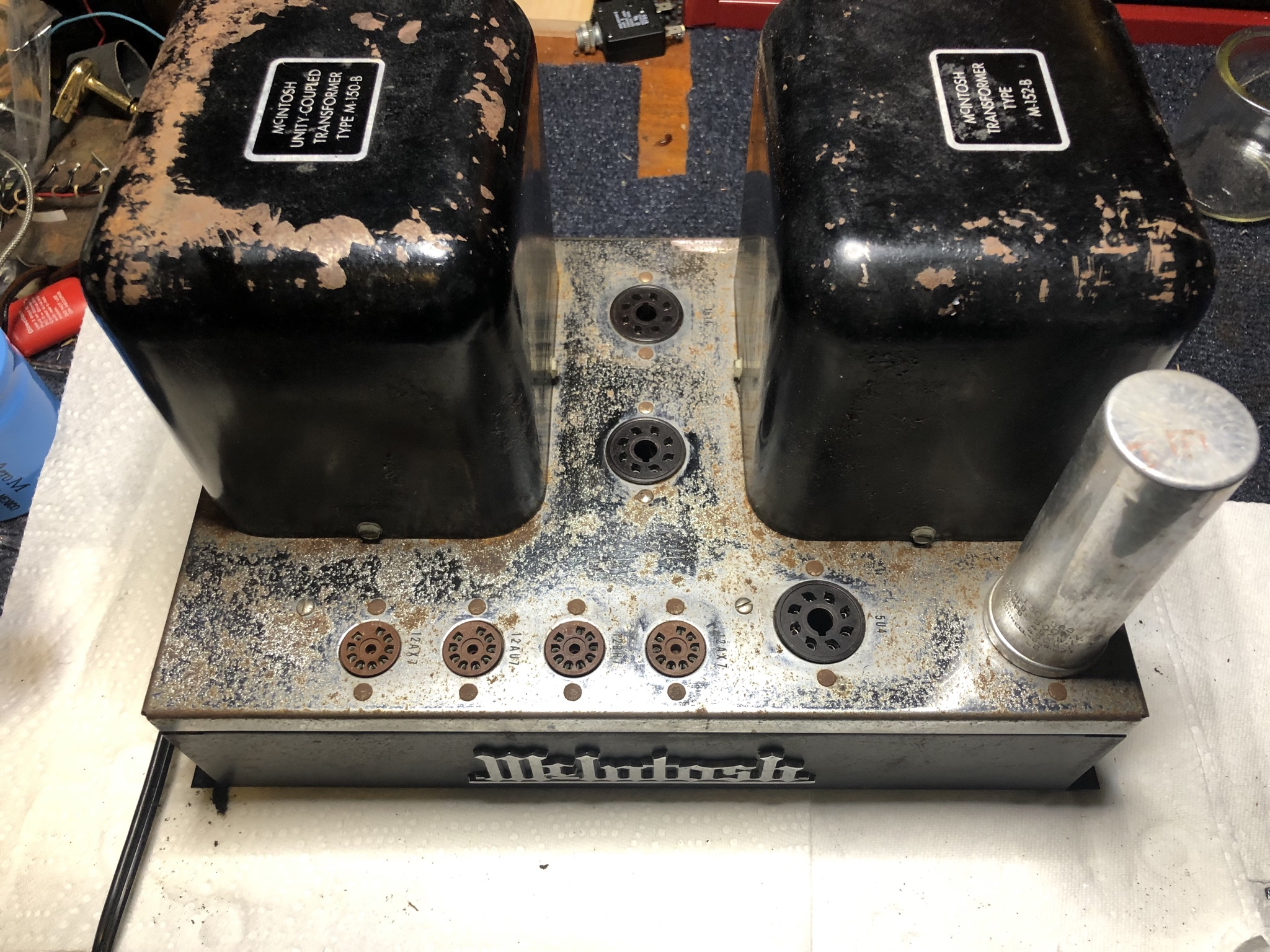 First McIntosh Restoration | Audiokarma Home Audio Stereo
